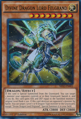 Divine Dragon Lord Felgrand - SR02-EN001 - Ultra Rare - 1st Edition