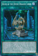 Ruins of the Divine Dragon Lords - SR02-EN024 - Super Rare - 1st Edition