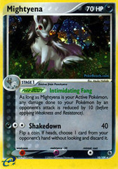 Mightyena - 10/109 - Holo Rare on Channel Fireball