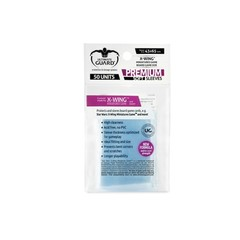 Clear - Premium Soft (Ultimate Guard) - X-Wing Sleeves - 100ct