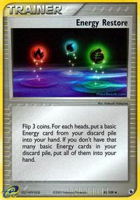 Energy Restore - 81/109 - Uncommon