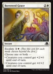 Borrowed Grace - Foil on Channel Fireball
