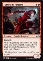 Furyblade Vampire - Foil