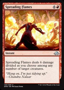 Spreading Flames - Foil