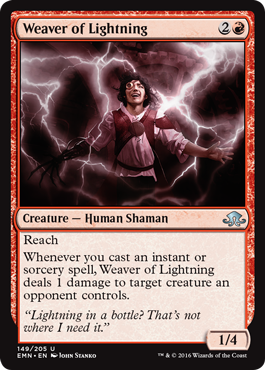 Weaver of Lightning - Foil