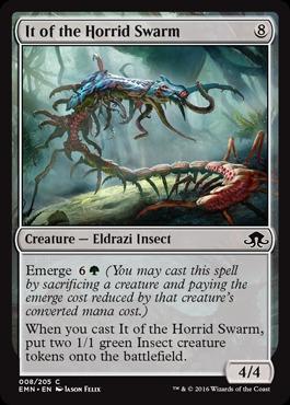 It of the Horrid Swarm - Foil