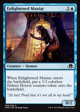 Enlightened Maniac - Foil