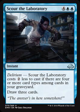 Scour the Laboratory - Foil