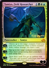 Tamiyo, Field Researcher - Foil - Prerelease Promo