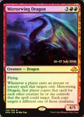 Mirrorwing Dragon - Foil - Prerelease Promo