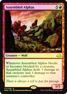 Assembled Alphas (Eldritch Moon Prerelease Foil 16-17 July 2016)