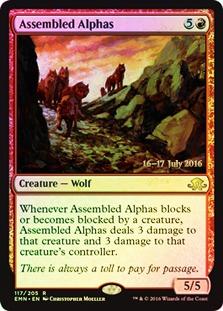 Assembled Alphas - Foil - Prerelease Promo
