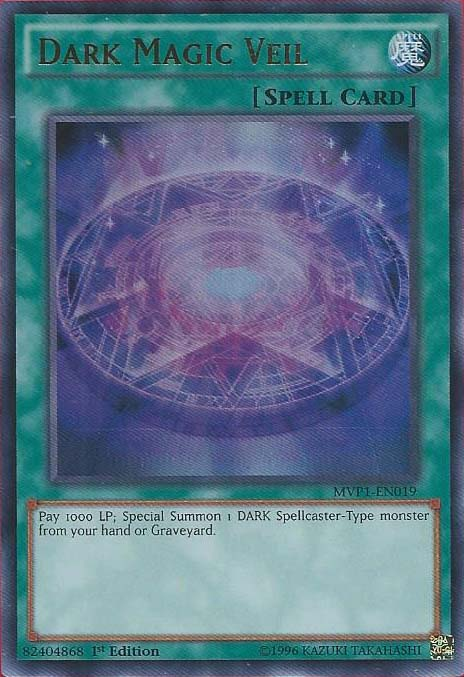 Dark Magic Veil - MVP1-EN019 - Ultra Rare - 1st Edition