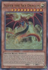 Slifer the Sky Dragon - MVP1-EN057 - Ultra Rare - 1st Edition on Channel Fireball