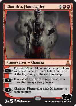 Chandra, Flamecaller - SDCC 2016 Exclusive Promo