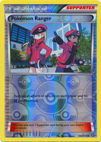 Pokemon Ranger - 104/114 - Uncommon - Reverse Holo