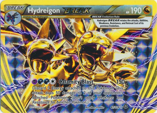 Hydreigon BREAK - 87/114 - Rare BREAK