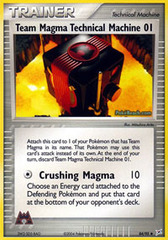 Team Magma Technical Machine 01 - 84/95 - Uncommon