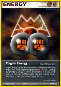 Magma Energy - 87/95 - Uncommon