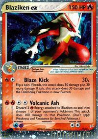Blaziken-EX - 89/95 - Rare Holo EX