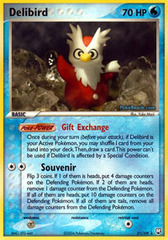 Delibird - 21/109 - Rare on Channel Fireball