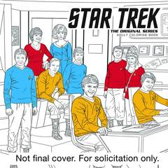 Star Trek Original Series Adult Coloring Book