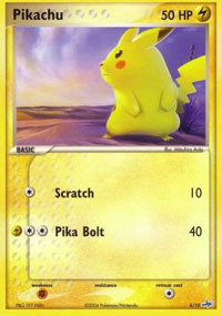 Pikachu - 6/10 - Common