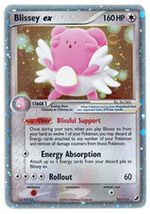 Blissey-EX - 101/115 - Rare Holo EX on Channel Fireball