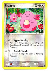 Chansey - 20/115 - Rare on Channel Fireball