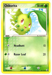 Chikorita - 51/115 - Common on Channel Fireball