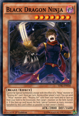 Black Dragon Ninja - TDIL-EN036 - Common - 1st Edition