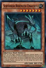 Subterror Behemoth Umastryx - TDIL-EN083 - Ultra Rare - 1st Edition