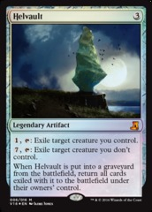 Helvault - Foil on Channel Fireball