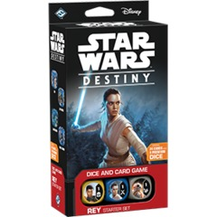 Star Wars Destiny Rey Starter Set on Channel Fireball