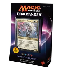 Commander 2016: Invent Superiority - Breya - White/Blue/Black/Red Deck