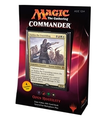 Commander 2016: Open Hostility - Saskia - Black/Red/Green/White Deck