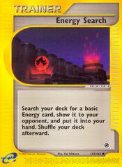 Energy Search - 153/165 - Common