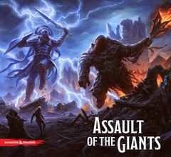 Dungeons & Dragons Assault of the Giants Board Game