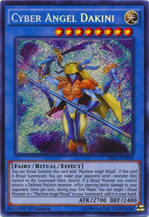 Cyber Angel Dakini - DRL3-EN014 - Secret Rare