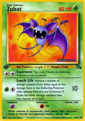Zubat - 57/62 - Common - 1st Edition