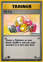 Mr. Fuji - 58/62 - Holo Rare - 1st Edition
