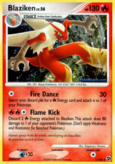 Blaziken - 1/106 - Holo Rare on Channel Fireball
