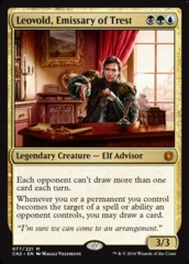 Leovold, Emissary of Trest on Channel Fireball