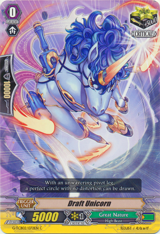 Draft Unicorn - G-TCB02/072EN - C