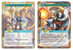 Charlotte, Determined Girl // Charlotte, The Mage of Sacred Spirit - CFC-038J - R - Textured Foil on Channel Fireball