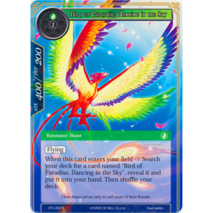 Bird of Paradise, Dancing in the Sky - CFC-052 - R - Foil