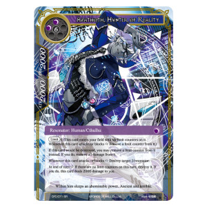 Azathoth, Hunter of Reality - CFC-071 - SR - Foil
