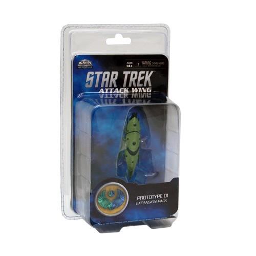 Attack Wing: Star Trek - Romulan - Prototype 01 Expansion Pack