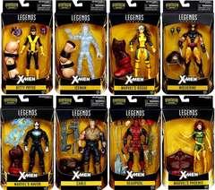 X-Men Marvel Legends Juggernaut Series Set of 8 Action Figures
