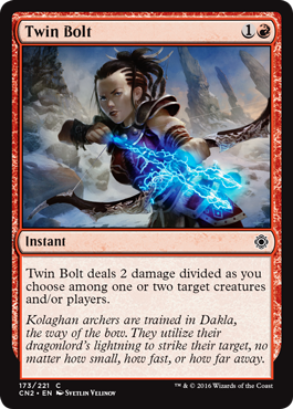 Twin Bolt - Foil